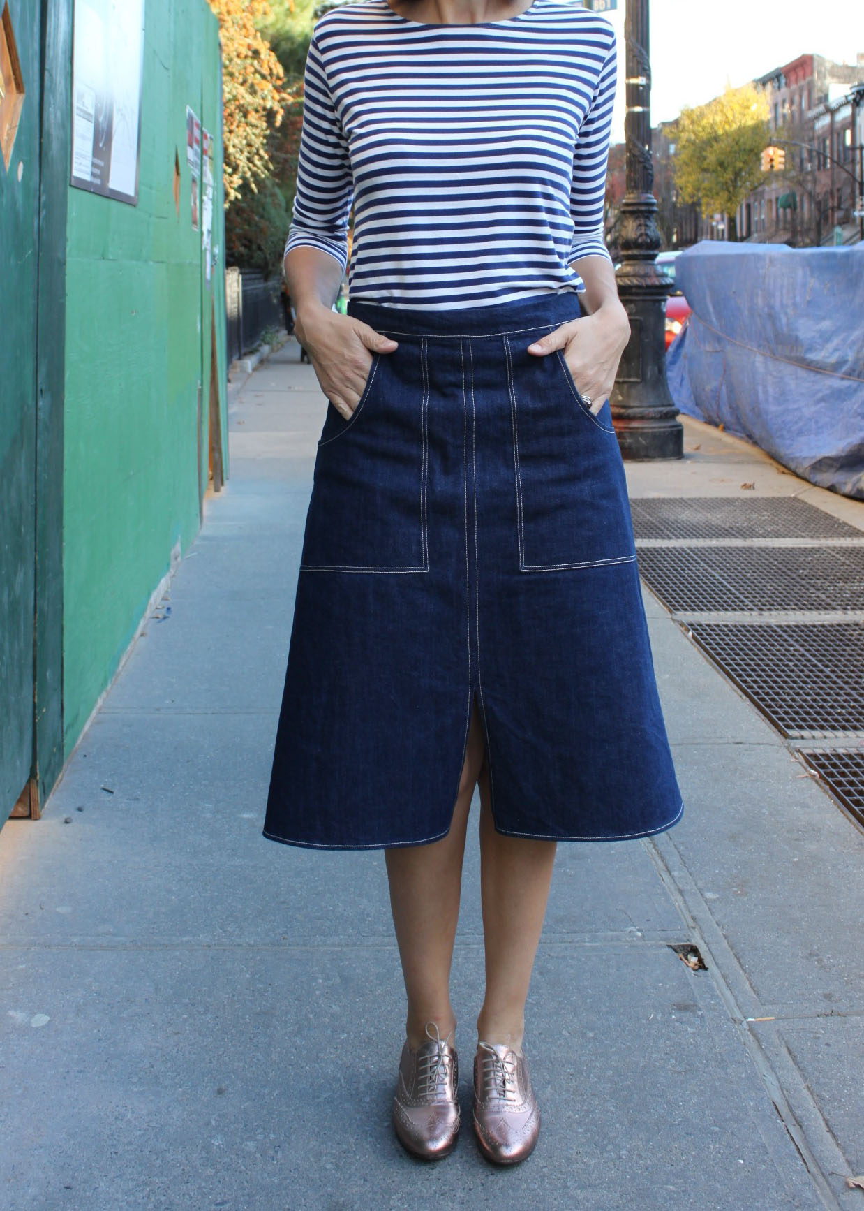 A-line skirt 7