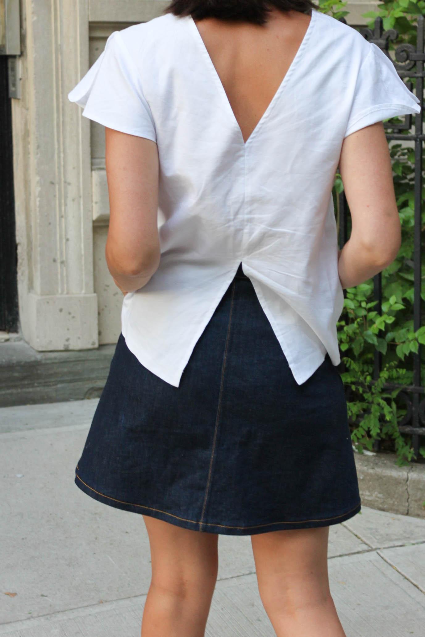 Flutter blouse 3