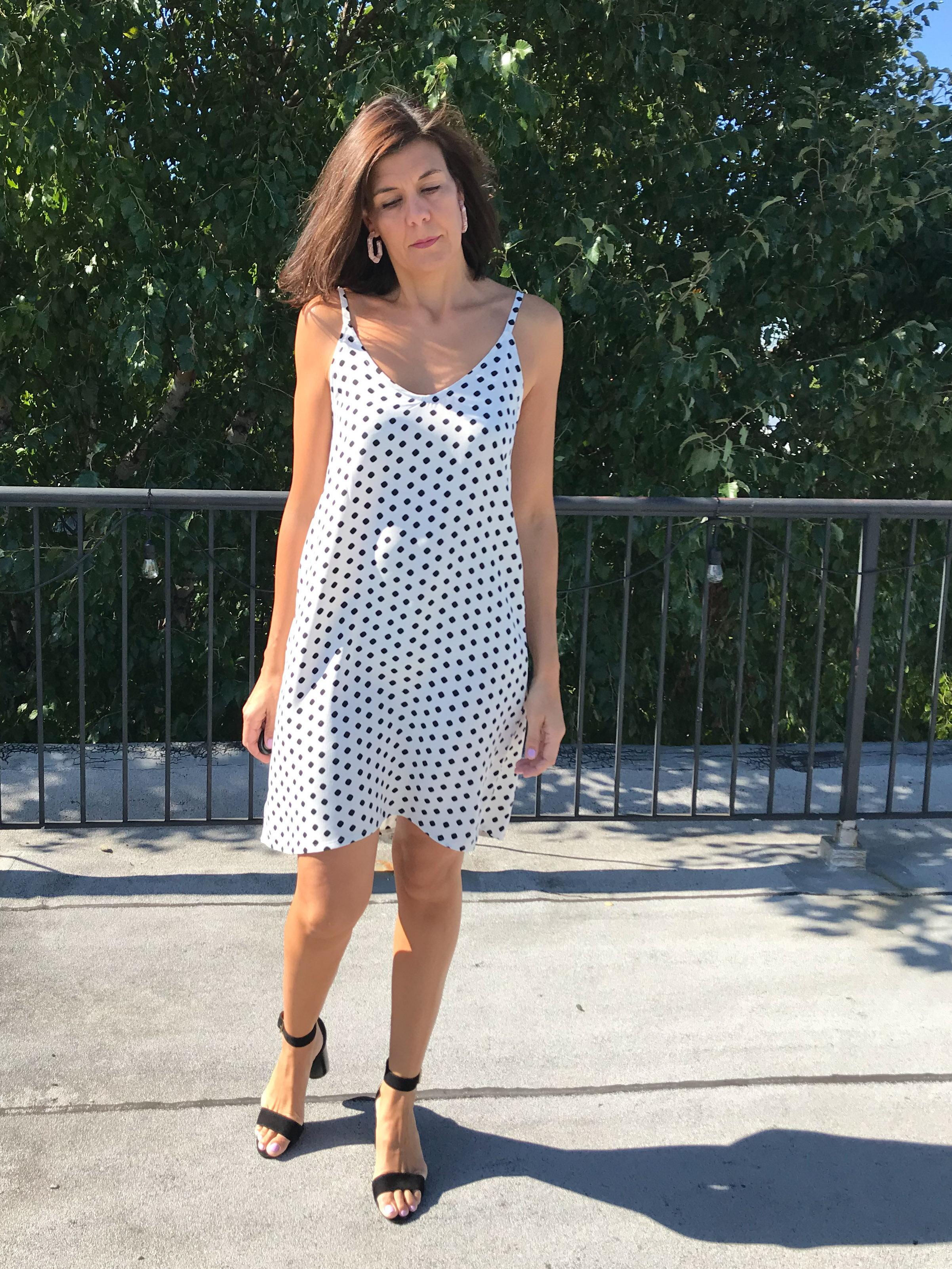 Silk Crepe Ogden dress, Summer 2019
