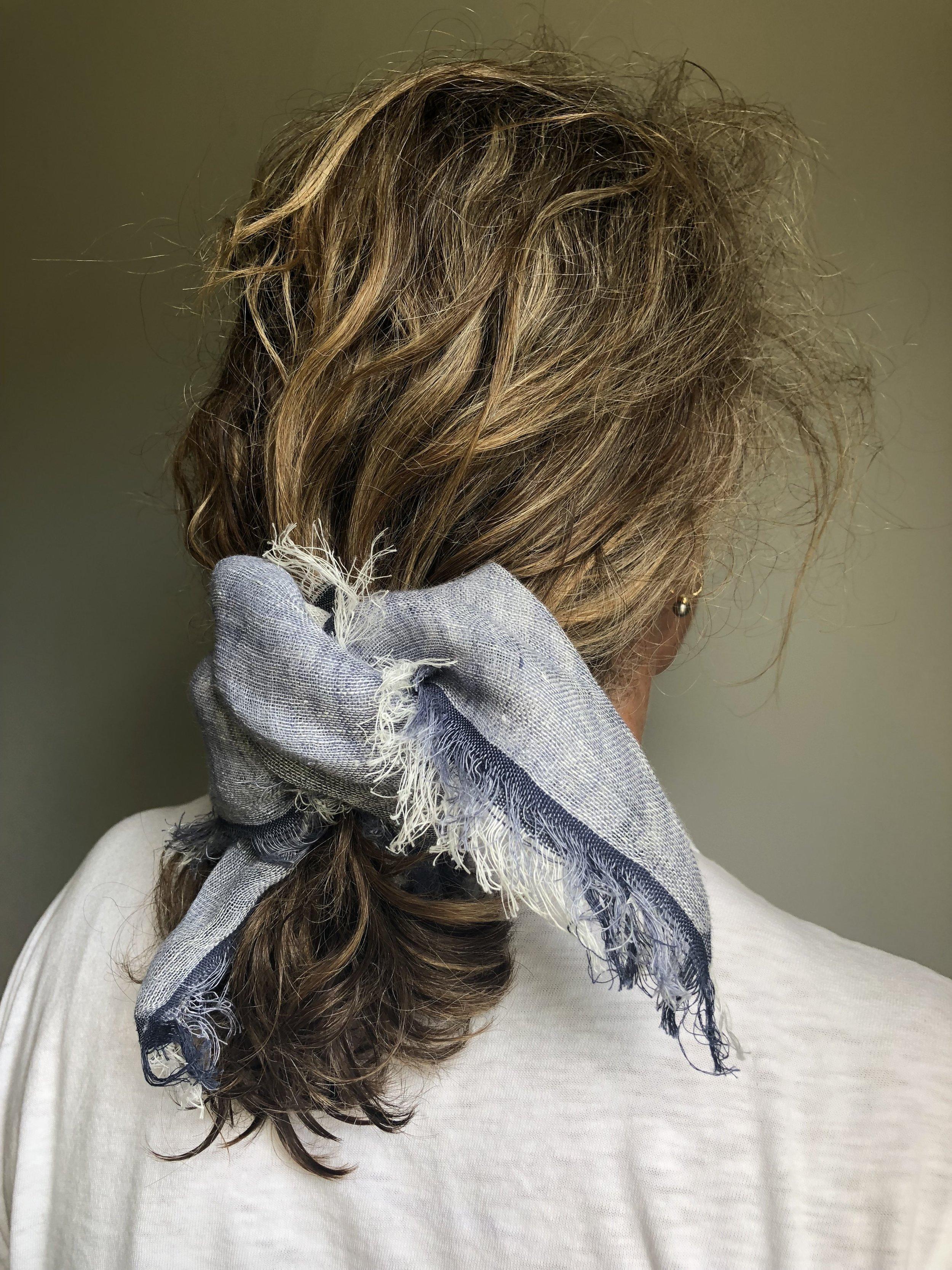 Ikat Linen Neckerchief