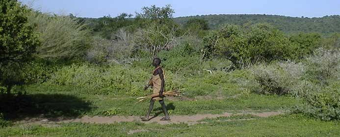 Hadza bushman, Tanzania 2000