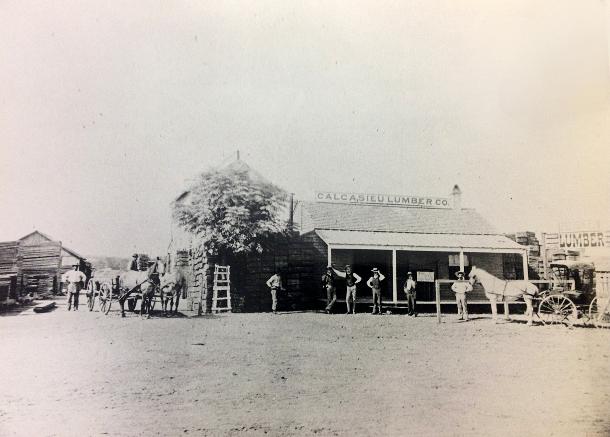 Founded in the 1880s, Calcasieu Lumber Companywas Austin's first lumber yard.  Image found on www.mystatesman.com