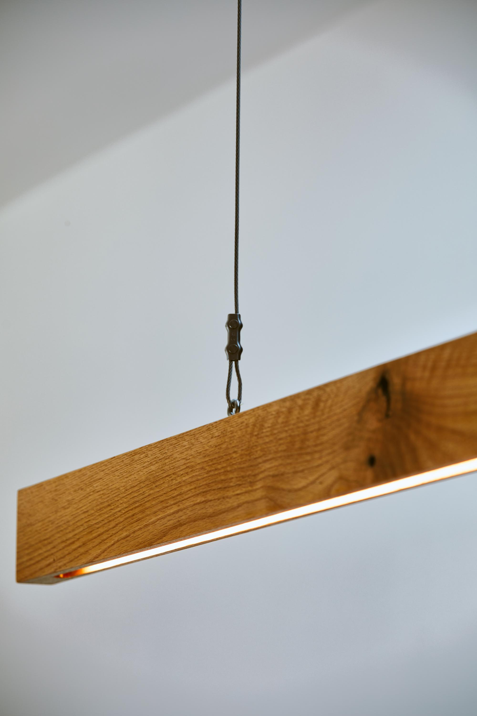Custom Fir light fixture