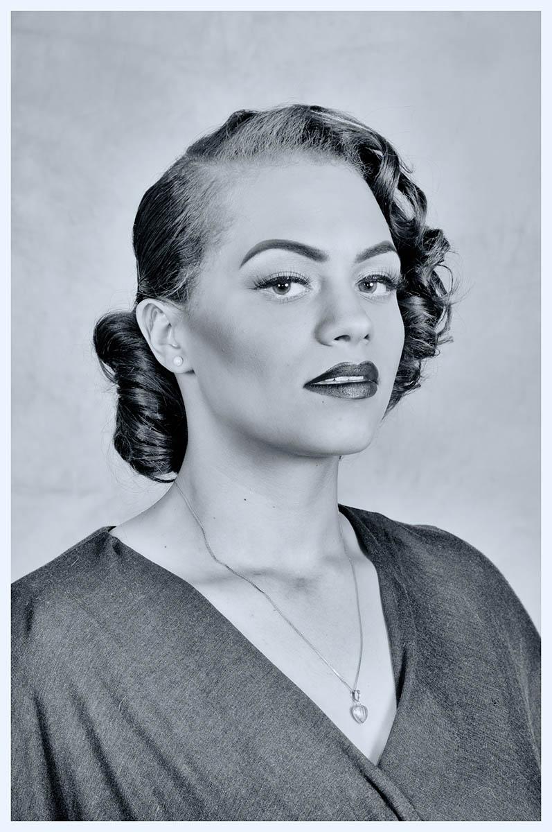 Bea, 1950s vintage look