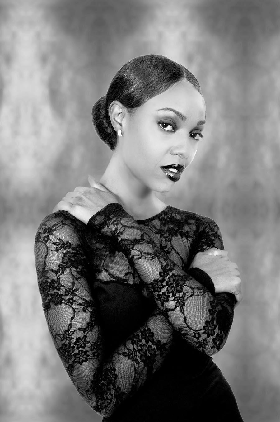 Black model, denver, fashion photo
