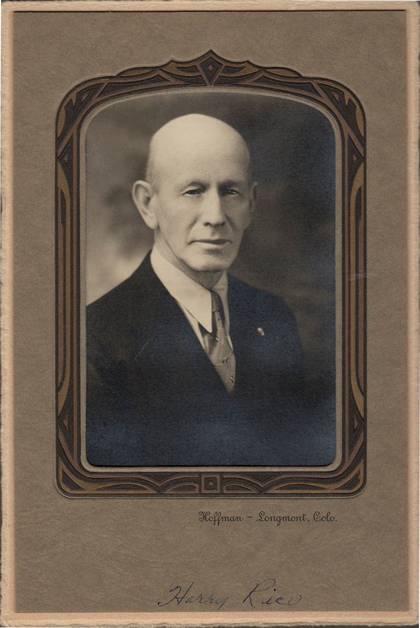 Old fashioned executive portrait, year unknown