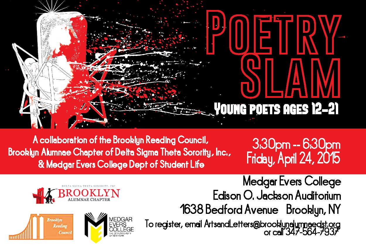 Brooklyn Alumnae Poetry Slam 2015