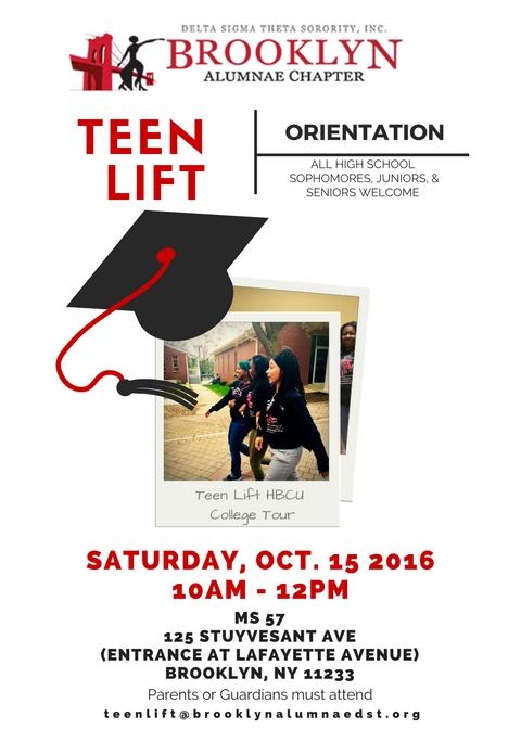 Brooklyn Alumnae Delta Teen Lift 2016