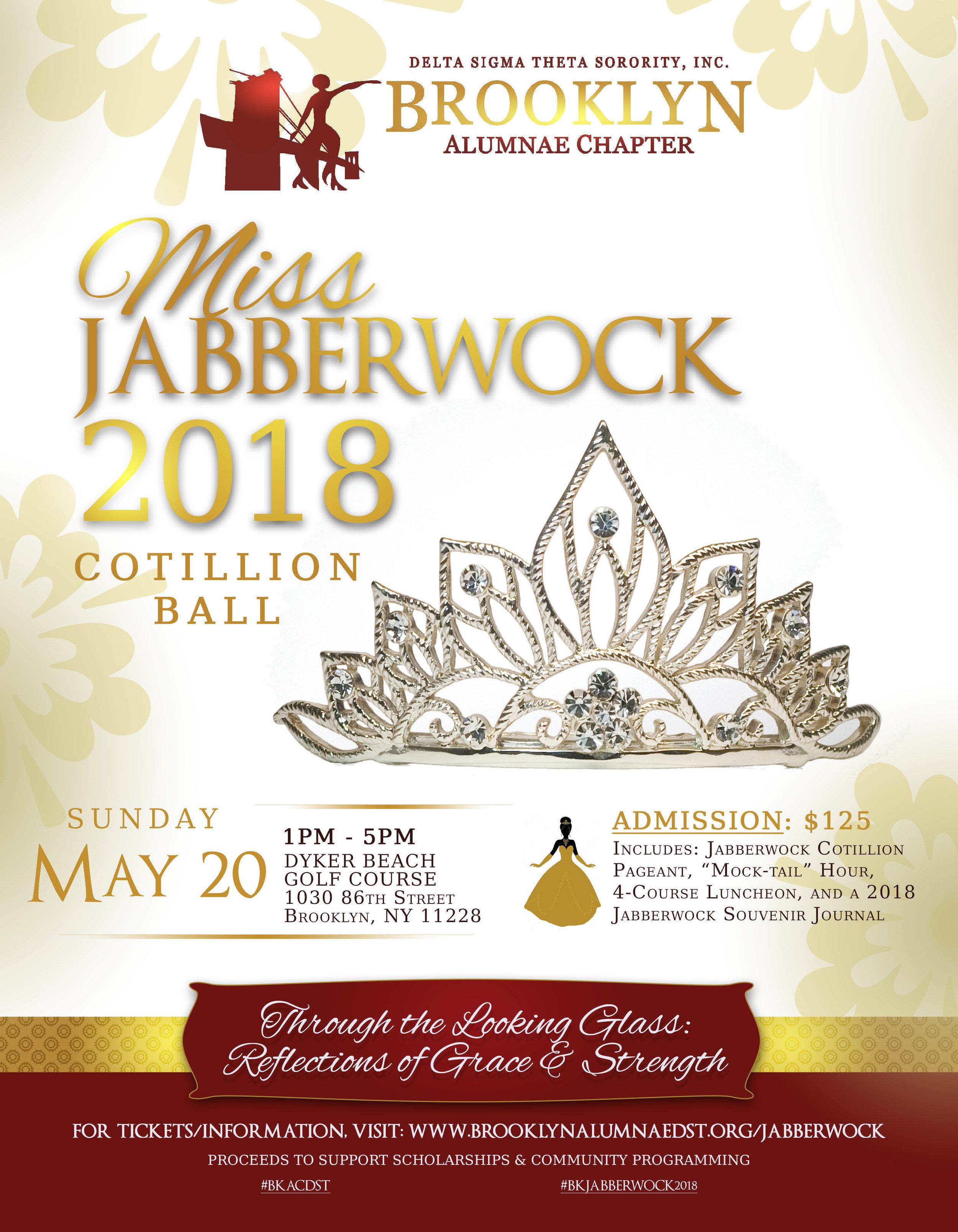 Jabberwock Cotillion Flyer2018