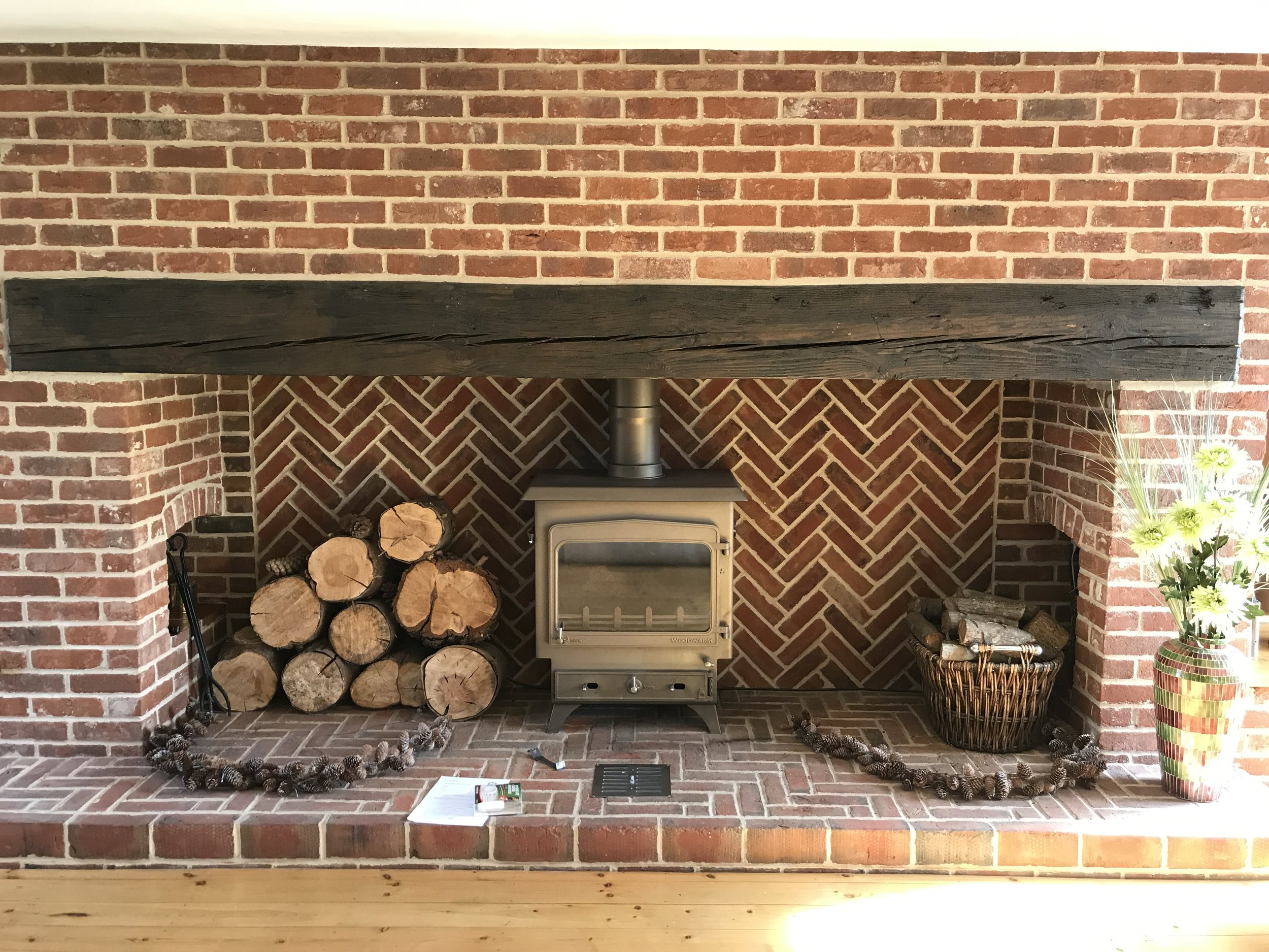 Woodwarm Fireview 16 Kw multi fuel.JPG
