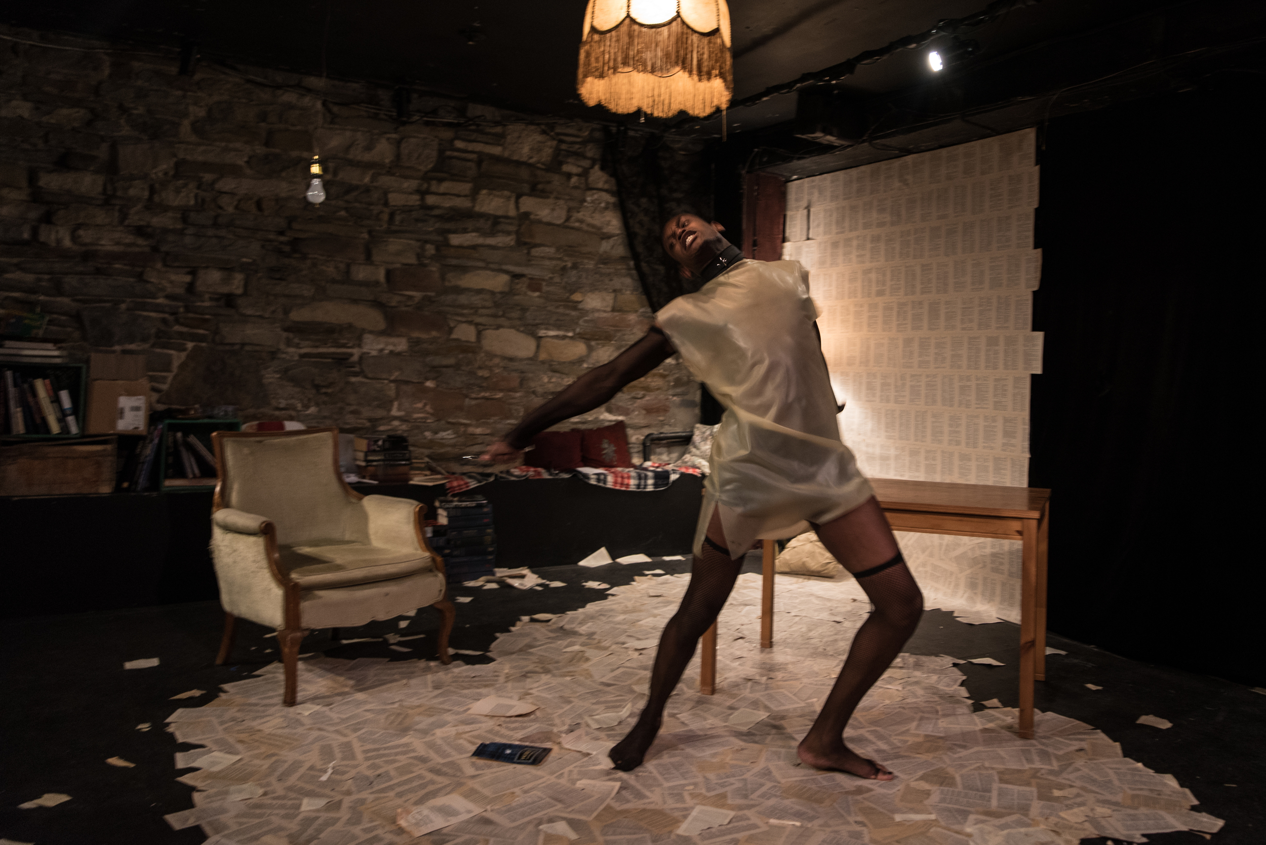 Still.   Binocular Theatre. Direction: Ali Joy Richardson. Set & Costume Design: Michelle Tracey. Photo by: Neil Silcox
