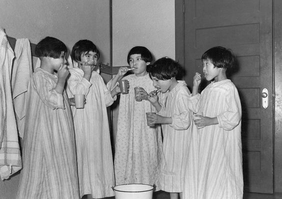 canadian girls in residential school .jpg