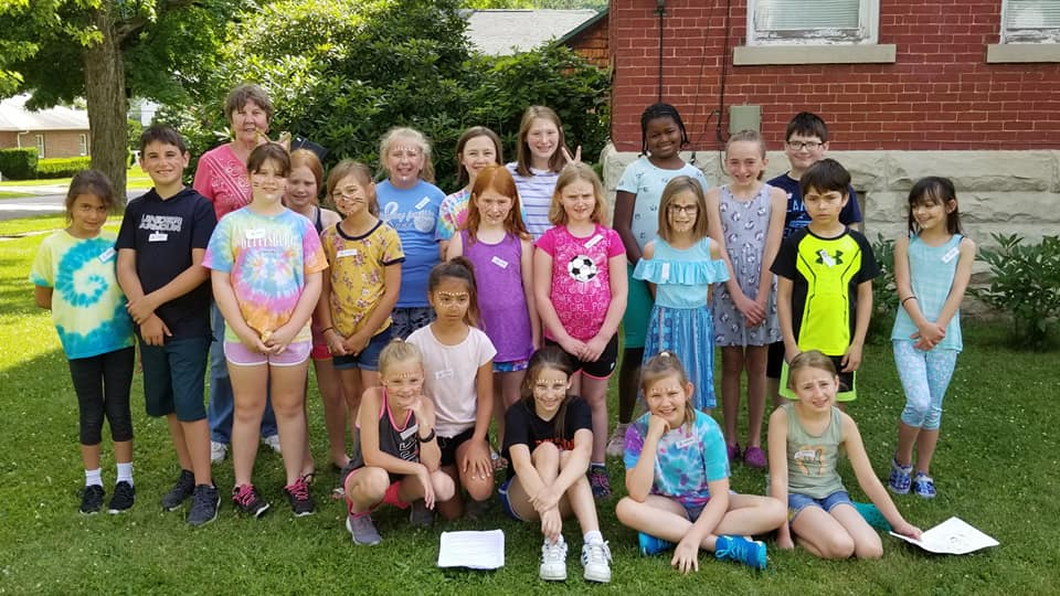2018 Campadoodle campers and Mary Dixon of Waterloo Studios.