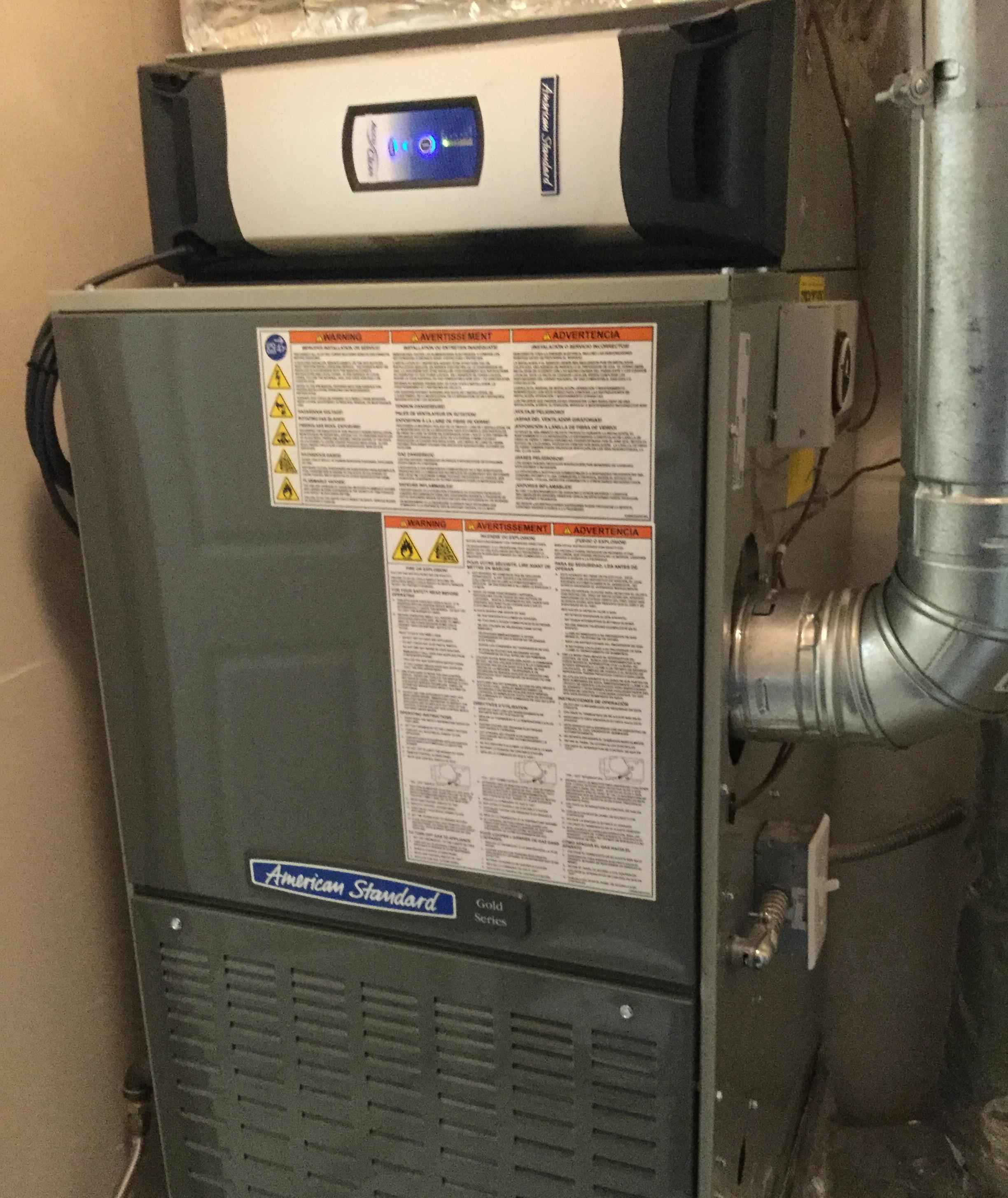Gas Furnace Replacement in Federal Way, Wa (King County).