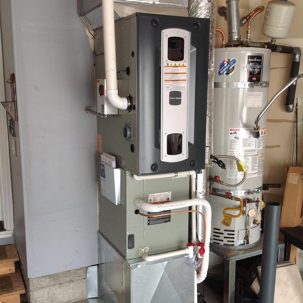 Gas Furnace and Air Conditioning Replacement Installation in Bremerton, Wa (Kitsap County).