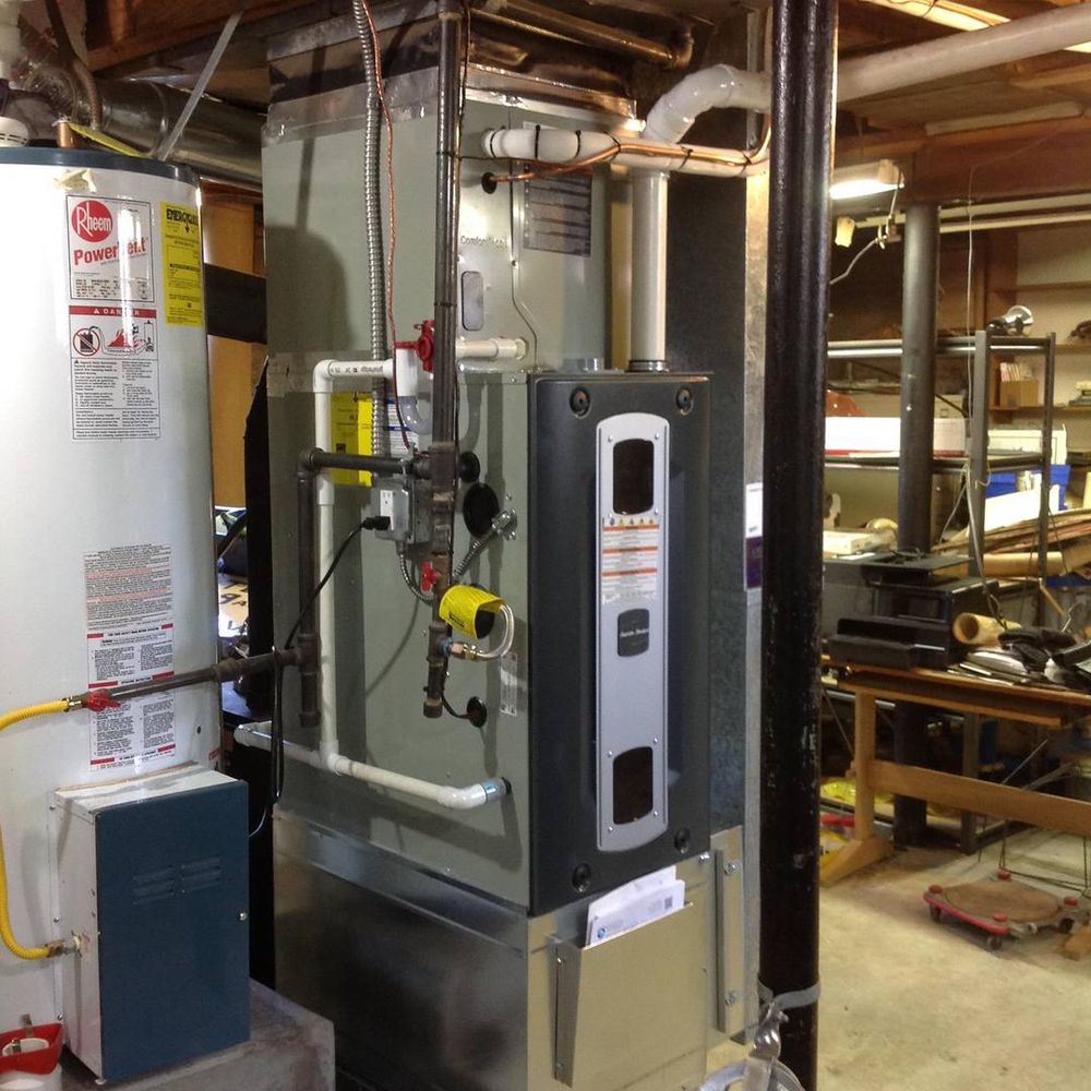 Gas Furnace Replacement in Puyallup, Wa (Pierce County).