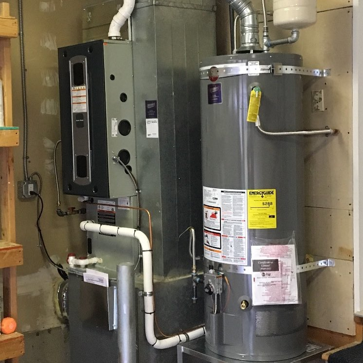 95% Gas Furnace and Gas Hot Water Tank Replacement in Auburn, Wa (King County).