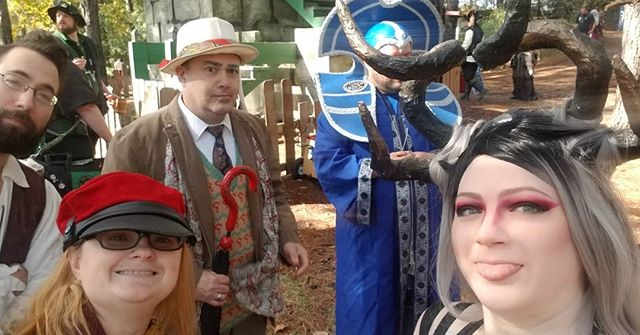 This was an amazing weekend of friends and time travelers at the Renaissance Festival! I'm glad I have such a fun loving group of friends #LARF #lrf #renaissancefestival #timetraveler