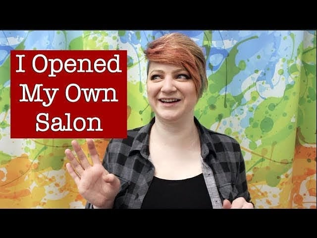 "Well, I know it's been 6 months, but I've posted a new video! Click the link in my bio and go to the ""videos"" tab to see it, or check my YouTube channel. I have stories to share! #youtube #videoblog #vlog #salonowner #excitingnews #goodnewseveryone #salontour #mightvepostedthisearly #sorrynotsorry"