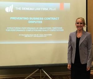 Kindra Deneau: Part 1 Preventing Business Contract Disputes