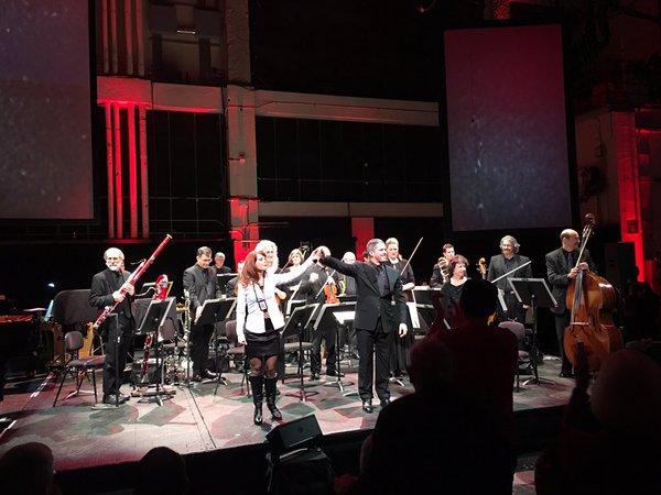 Nikki Einfeld, Edwin Outwater, and the SFSO at SoundBox; December 2015