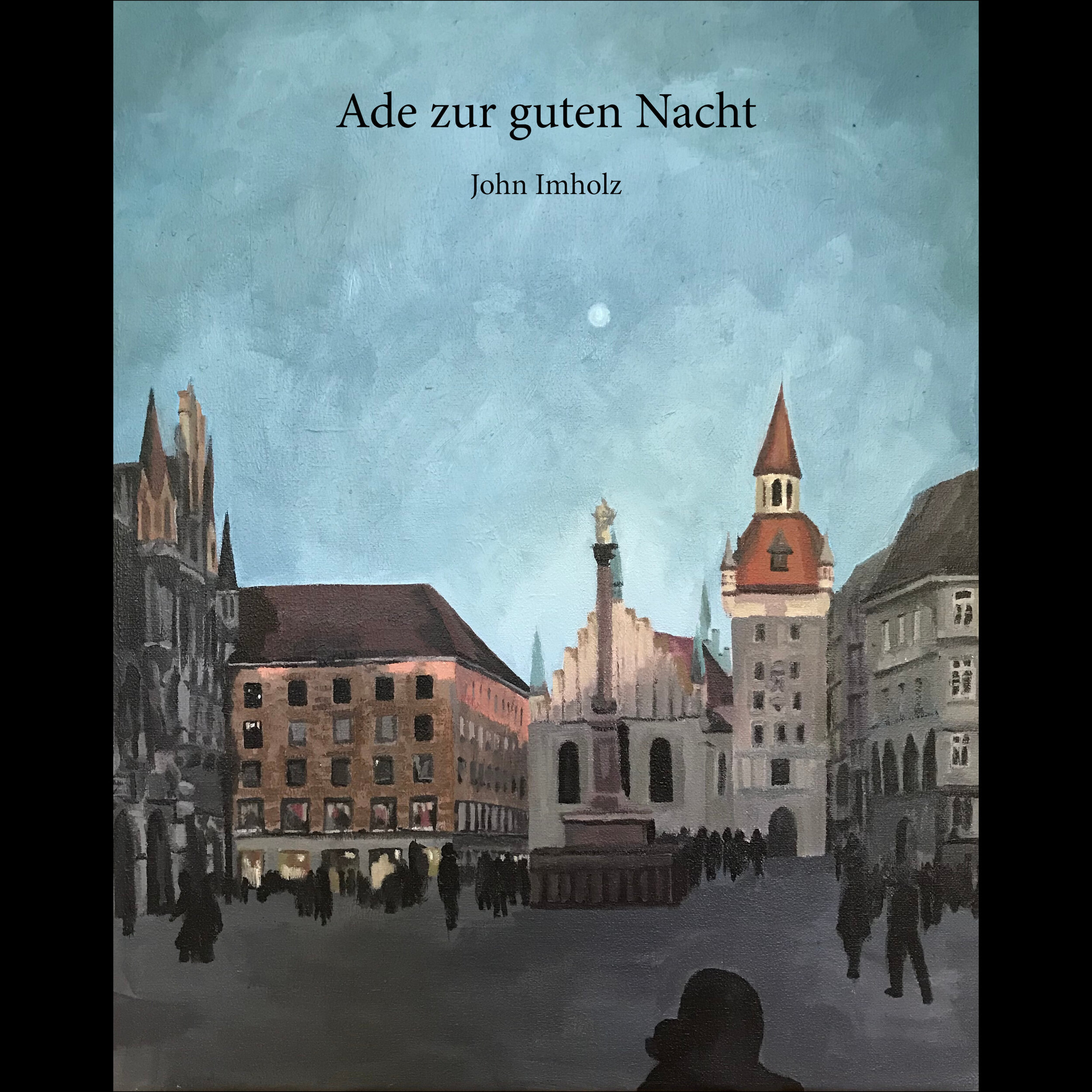 Ade zur guten Nacht is a German lullaby that first appeared in the early 19th century. The composer and lyricist are unknown; the song appears in songbooks from the German states of Sachsen, Rheinpfalz, Thüringen, and other parts of the Franken region.     Daniel Cilli - vocals  Miriam Perkoff - cello  John Imholz - guitar and mandolin  John Cuniberti - mastering  Artwork: Marienplatz - 17 April 2019, by Fanya Sandrine Imholz     This song was recorded and mastered in Oakland, California. I did the editing and mixing in Erfurt and München, Germany.