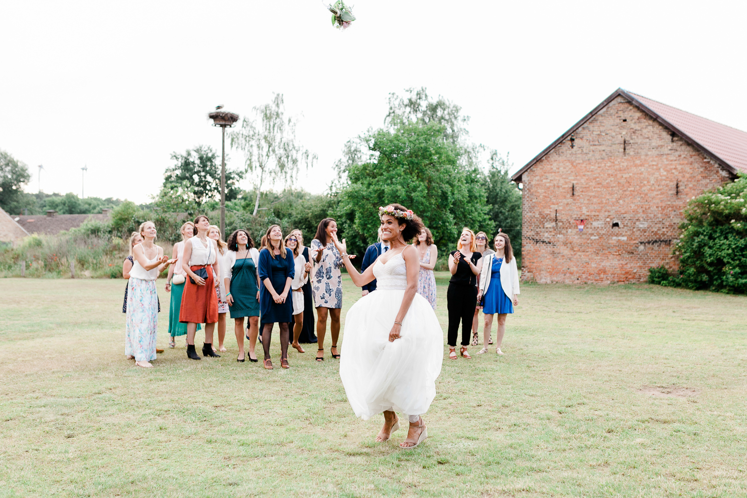 country side barn wedding