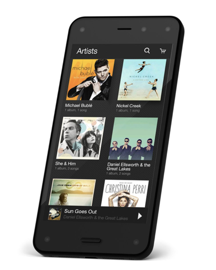Amazon Firephone Audio Branding / Audio UX -