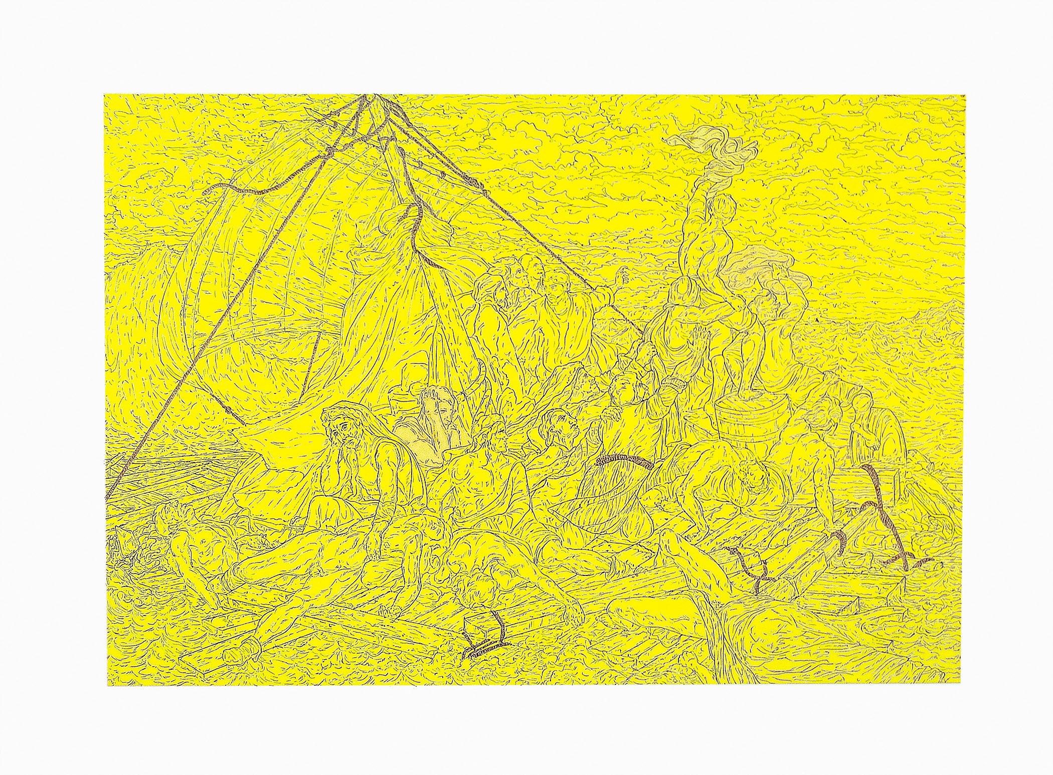 09 STA-2011-0007 Untitled (Raft of the Medusa) 2011_24.75 x 32.75 inches.jpg
