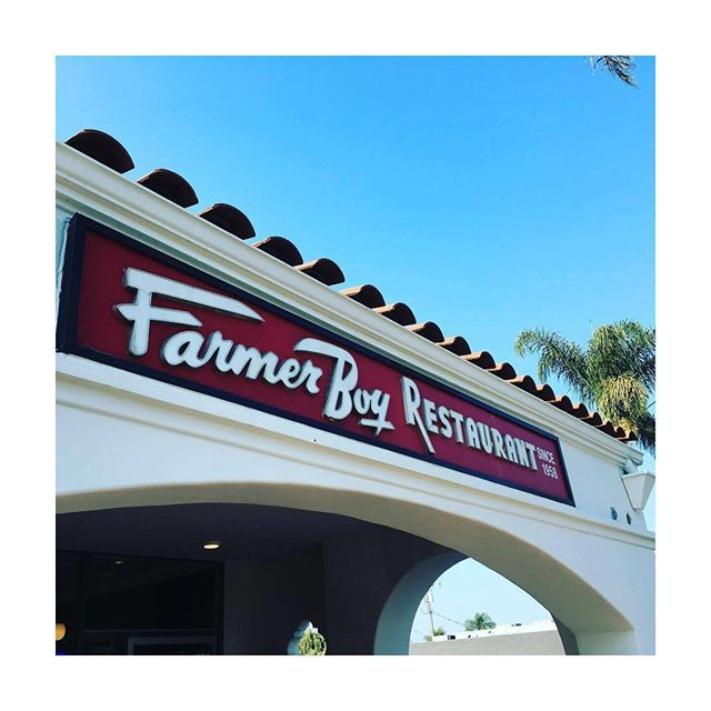 Farmer Boy Restaurant serving good old-fashioned comfort food since 1958. #Farmer_Boy_Diner #SantaBarbaraRestaurant #Since1958 📷 @nicksta_g