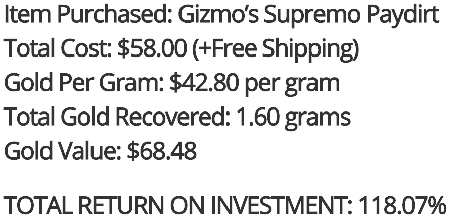 Gizmo's PayDirt Supremo ROI Review.png