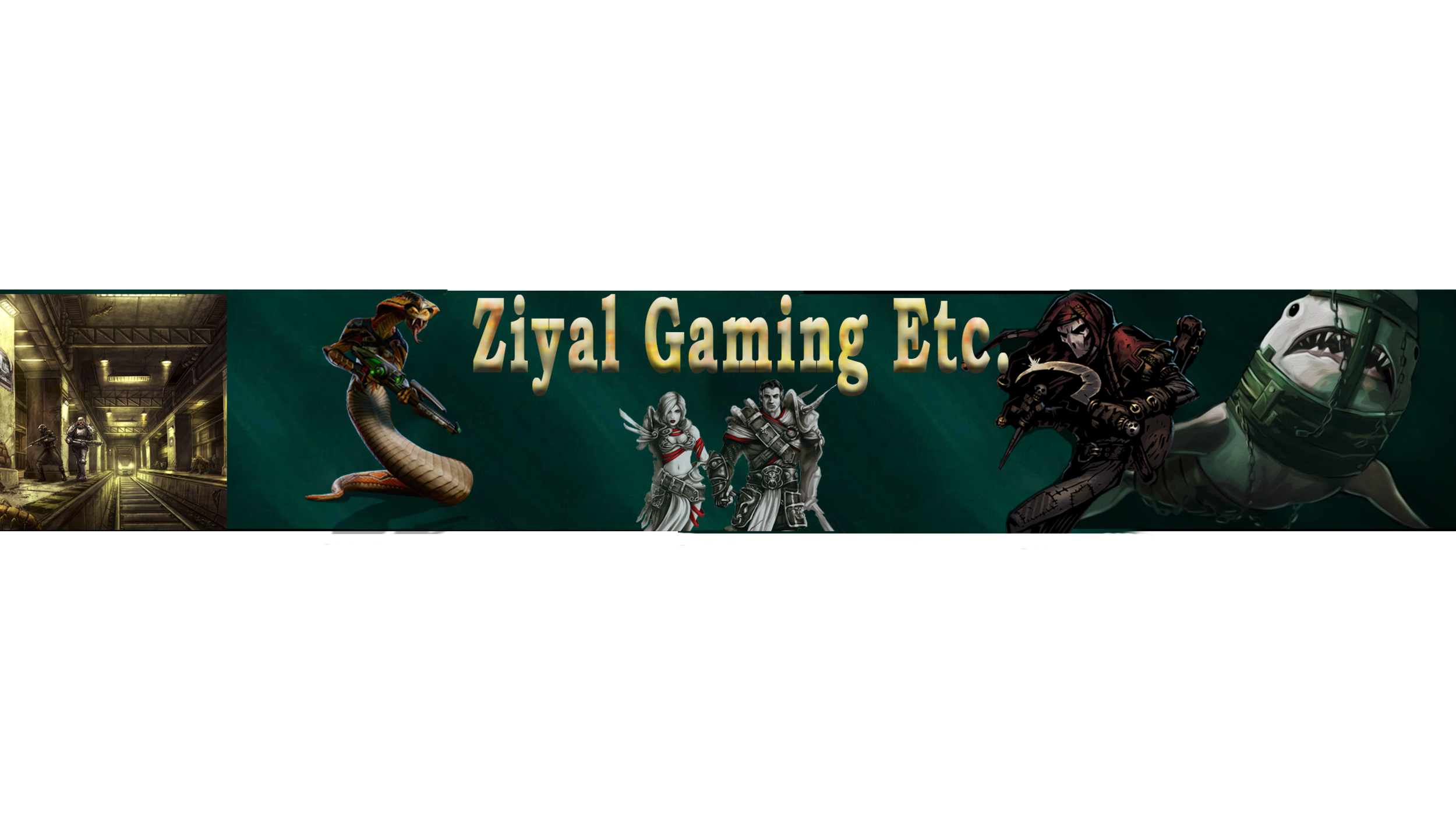 My Channel art banner.  Click thru to reach the channel and say hello if you like.
