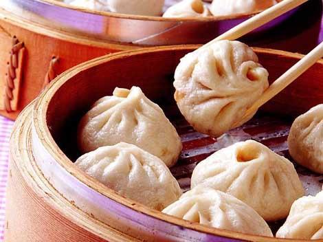 Xiaolongbao or steamed bun