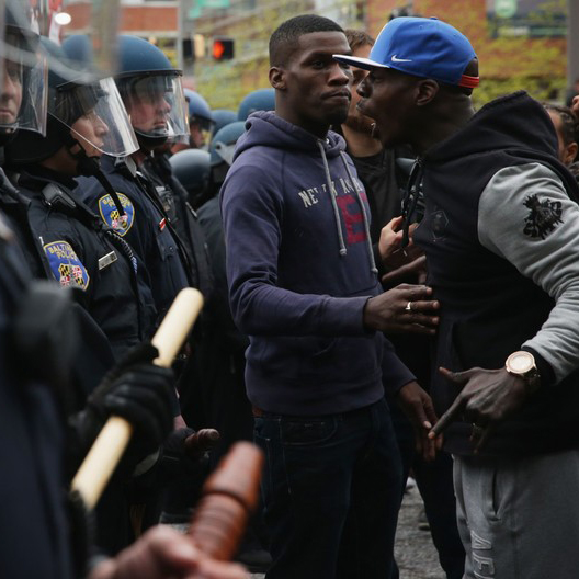 "Episode 42: The Baltimore Riots<a href=""http://www.strideandsaunter.com/new-blog/2015/6/18/episode-42-the-baltimore-riots"">Listen →</a></p>"