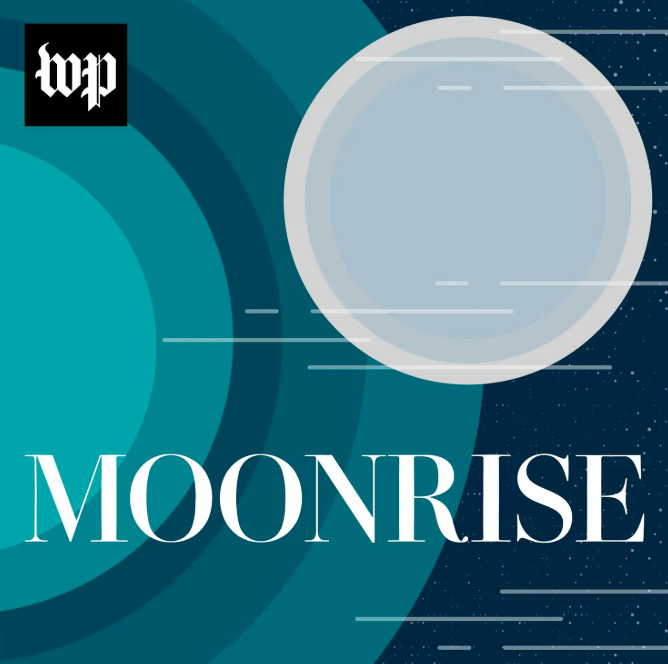 Moonrise, by the Washington Post, digs into the nuclear arms race of the Cold War, the transformation of American society and politics, and even the birth of science fiction, to unearth what really drove us to the moon.