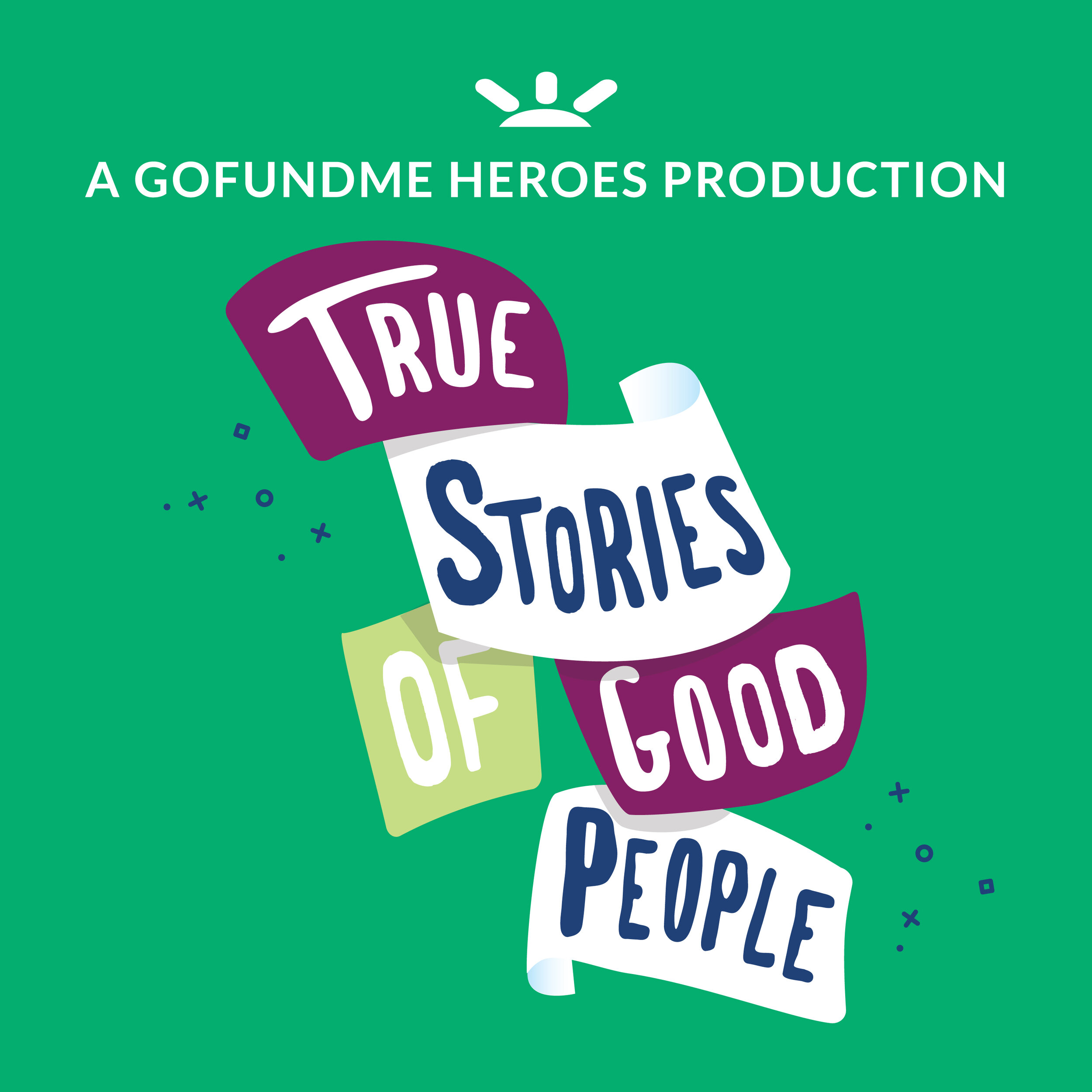 True Stories of Good People is a podcast about people who are making a difference in other people's lives, or have had their lives changed by someone kind.