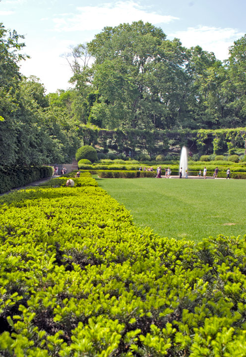 Garden in Central Park, 105th St and 5th Ave