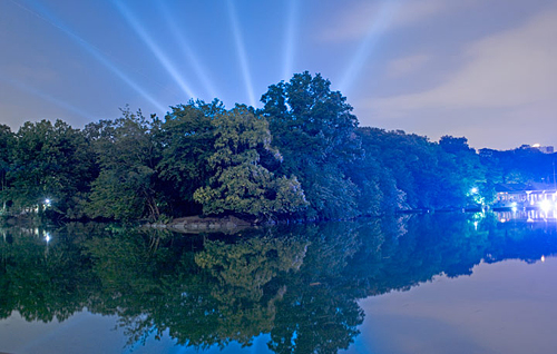 Magic in the Moonlight | Central Park Lake