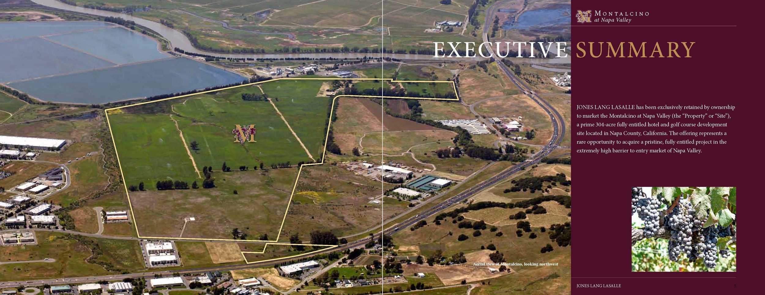 Napa Valley resort property offering from Jones Lang LaSalle.