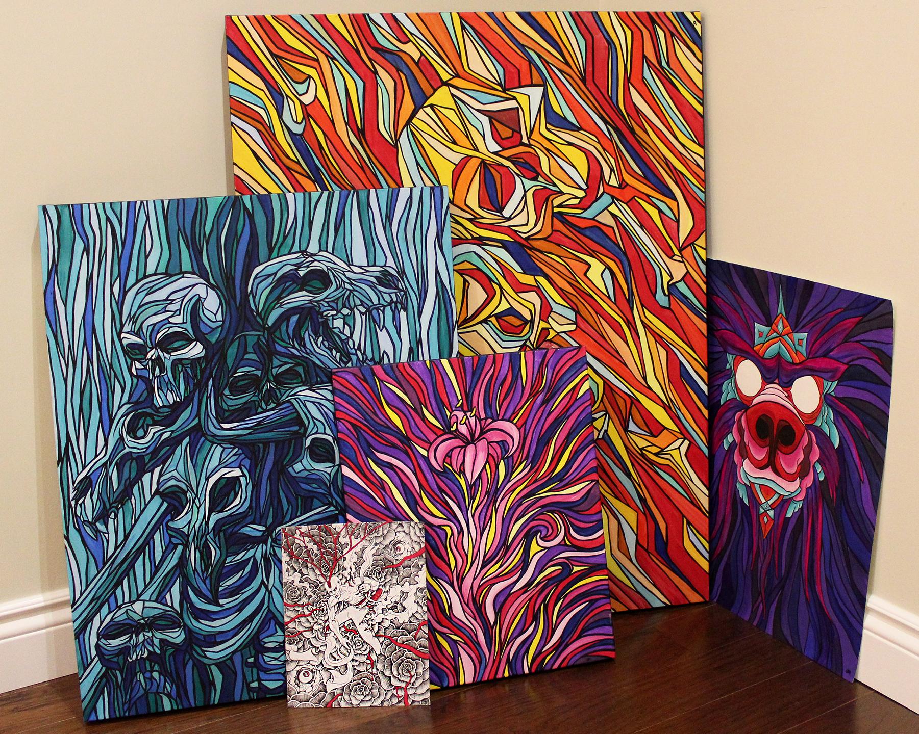 Jon McTavish Art Paintings