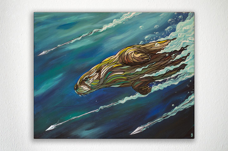 Arrow_Otter_Art_Painting_Jon_McTavish.jpg