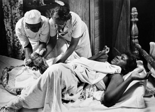 Maude Callen, South Carolina, Gullah Birth Worker Image Source:  Life Magazine,  December 1951