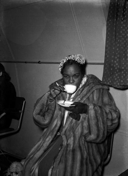 Winifred Atwell, 1952, Image source: NickelInTheTimeMachine.com
