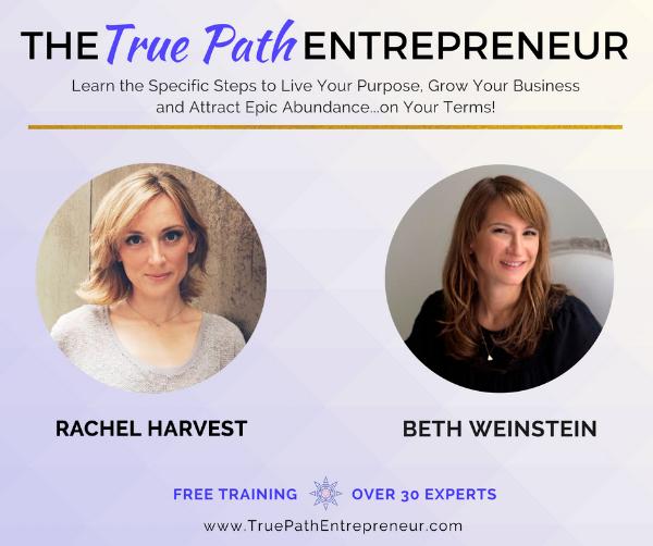 Rachel Harvest - Facebook post - True Path Entrepreneur summit .png