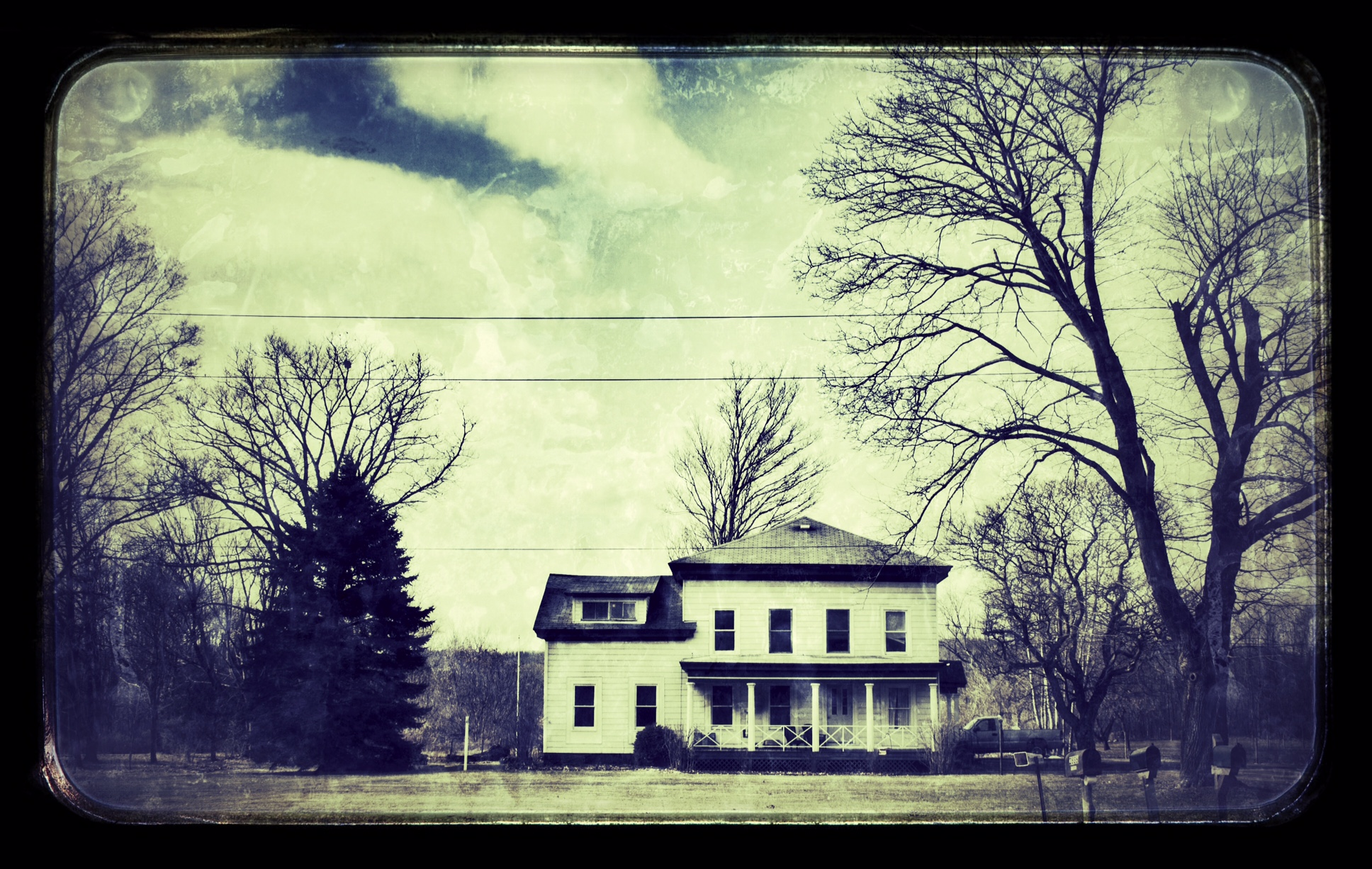 My haunted house.