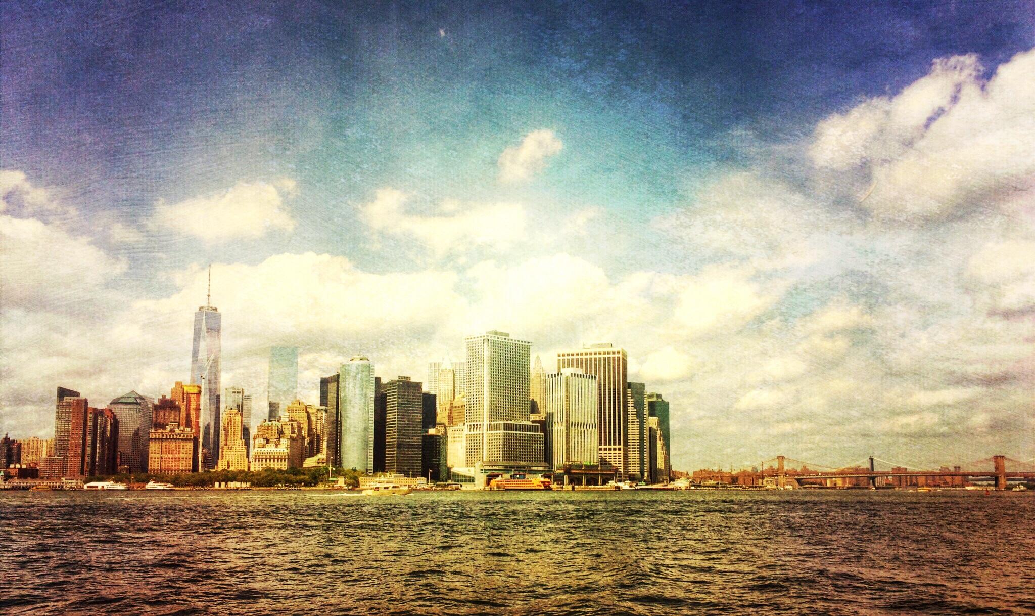 Panoramic NYC.