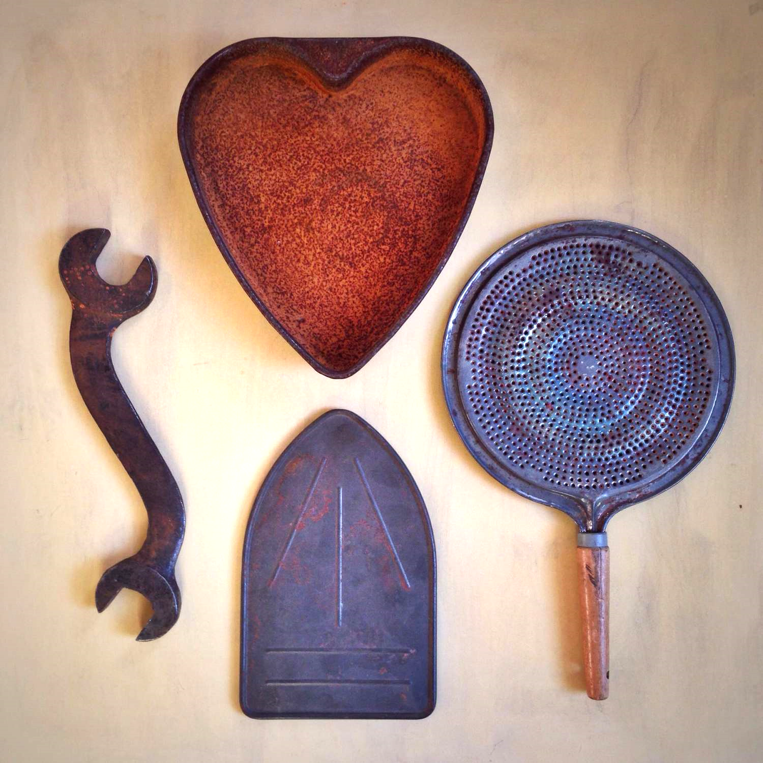 My finds from Mildred Johnson's studio.