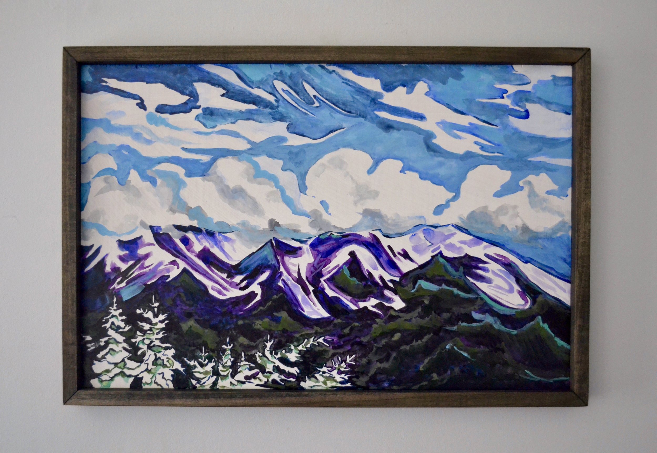 'White Mountains' - 2' x 16''