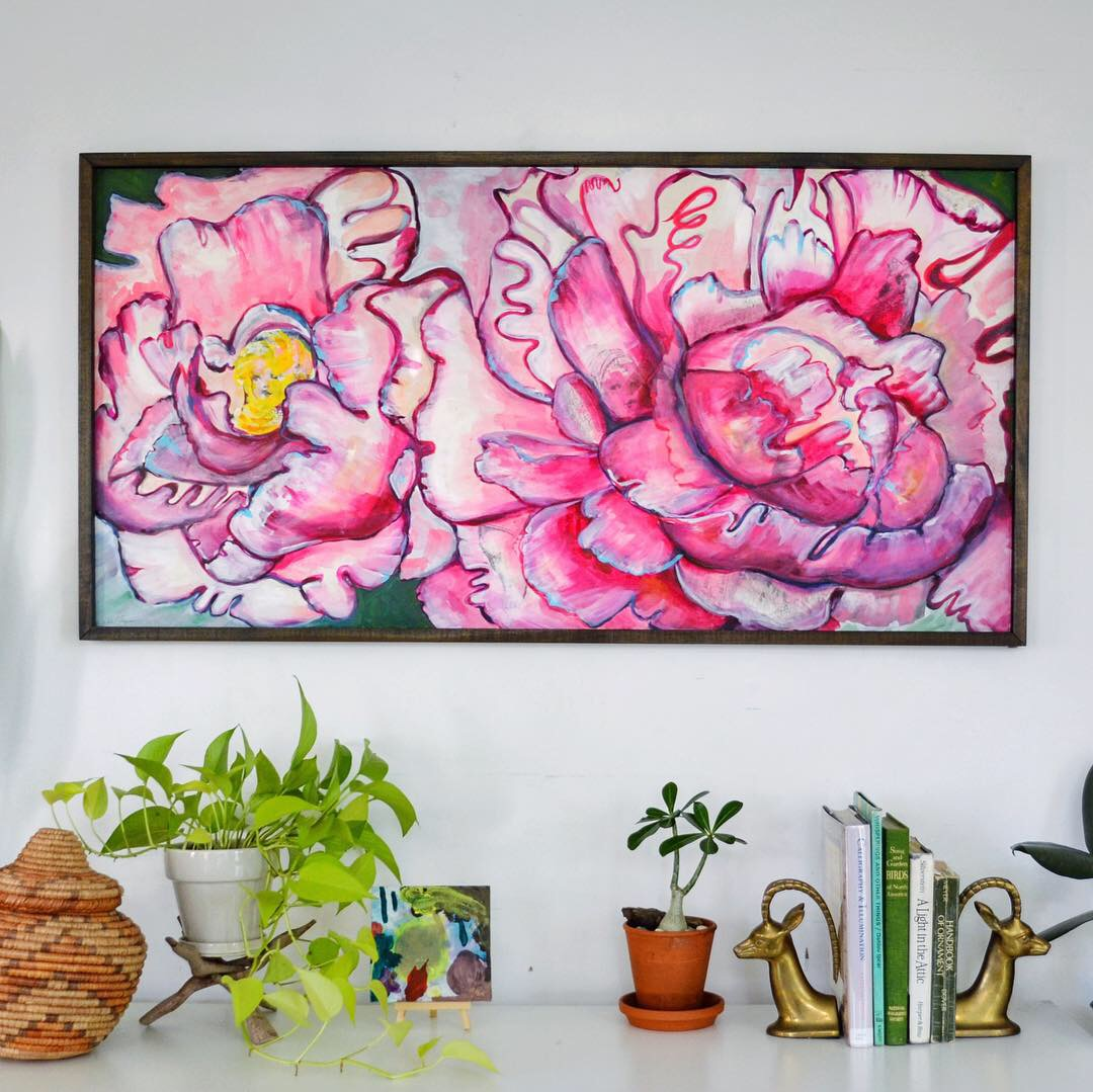 'Peonies' - SOLD!
