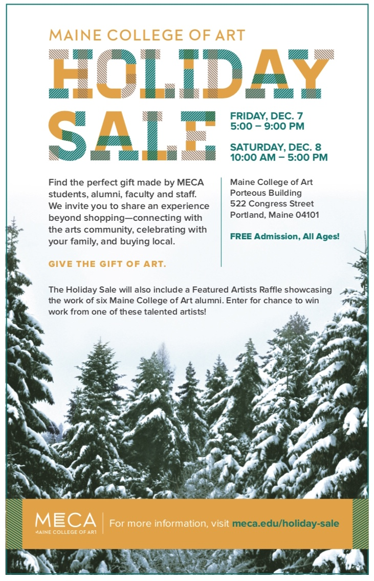 12/7-12/8 - Returning to my college turf, as an alumni  for this super amazing sale! If you haven't caught first Friday in Portland before, this is the night to come out!